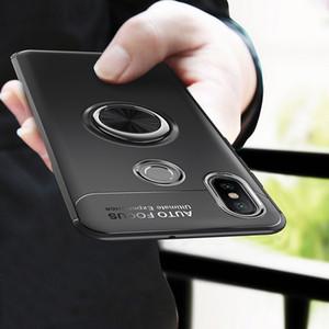 Redmi Hinweis 5 Fall Abdeckung Note5 Globale Version Autohalterung Ständer Magnetische Halterung Fingerring TPU Fall Für Xiaomi Redmi Note 5 Pro