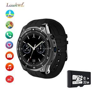 "X100 smart watch para android sistema de freqüência cardíaca pedômetro smartwatch mtk6580 1.3 ""3g sim relógios para iphone xiaomi pk q1 pro iwo kw18"
