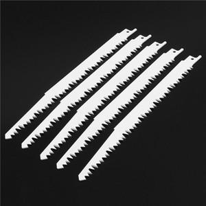 5pcs 240 mm de acero de alto carbono hojas de sierra recíprocas Sabre para madera