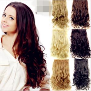2018 Sra. Cualquier color de la piel corta pelo falso pelo rizado recto cinco clips de pelo de la tarjeta clip damas color natural de encaje