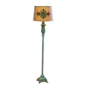OOVOV Avrupa Vintage Oturma Odası Dekoratif Zemin Lambası Yaratıcı Reçine Çalışma Odası Zemin Lambaları Yatak Odası Bedsides Zemin Işıkları