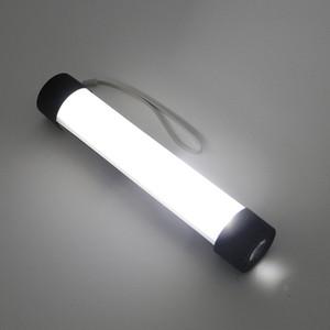 Lampada USB ricaricabile 33 LED Flashlight Luci da lavoro esterne GANCIO per magneti con caricatore mobile nero / oro