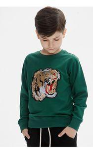 T-Shirt T-Shirt T-Shirt Big Boy Autunno Maglietta manica lunga T-shirt in cotone 2 colori
