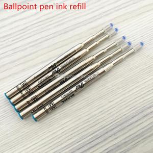 Qualité MB recharges de stylo à bille à bille d'encre noire et bleu monte balle recharge stylo pour l'écriture de stylo mb