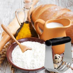 Pasta Kesici Mutfak Profesyonel Ergonomik Pişirme Hamur Blender ile 4 Ağır Bıçakları Yumuşak Kauçuk Kavrama Yüksek Kalite Paslanmaz Çelik