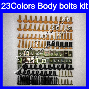 Fairing bolts full screw kit For SUZUKI GSXR750 GSXR600 11 12 13 14 GSXR 600 750 2011 2012 2013 2014 2015 K11 Body Nuts screws nut bolt kit