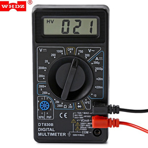Multímetro digital AC DC Voltímetro Nuevo multímetro Probador de resistencia de voltaje de corriente para multímetro eléctrico Prueba de diodo Shippiing VB gratis