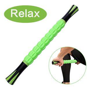 تدليك الجسم العضلات الأسطوانة الاسترخاء العضلات العميقة عصا العضلات للعدائين السفر التدريبات اليوغا الرياضيين لتخفيف الآلام