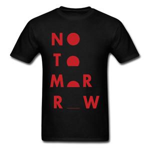 Girocollo No Tomorrow 100% cotone tessuto uomo T-shirt stampa manica corta maglietta Rife felpe personalizzate