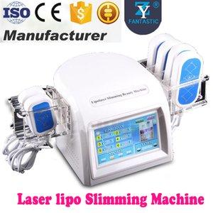 2017 Livraison Gratuite 5mw Diode Lipo Laser 635nm-650nm Laser 6 Pads LLLT Forme De Corps Minceur Fat Dissolver Machine