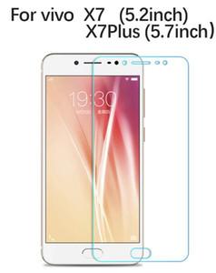 Para vivo vivo X7 / X7Plus protector de pantalla vidrio templado 2.5D 9H Película protectora endurecida superior en vivo X7 / X7Plus vidrio de seguridad
