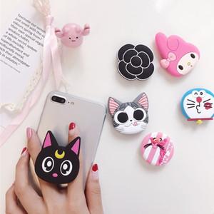 Support de support pour téléphone mobile nouvellement universel pour support extensible et support pour téléphone pour iphone xs max xiaomi mi 8 lite mignon Doraemon