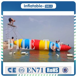 Free Shipping Factory Price 5x2m Inflatable Water Blob Inflatable Jump Blob ,0.9mm PVC Water Pillow, Inflatable Blob Jumping