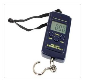 Hot Multifuncional Portátil Mini 40 kg / 10g Eletrônico Pendurado Bagagem de Pesca Balanca Digital Handy Bolso Peso Gancho Escala