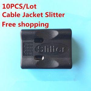 10pcs / lot Tube Cable Jacket Slitter Cable Stripper Loose Tube Jacket Slitter Fibra Stripper