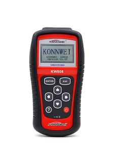 KONNWEI KW808 Auto Scanner OBDII OBD2 Leitor de Código de multi-idioma Ferramenta de Reset do Motor EOBD / CAN Ferramenta de Diagnóstico como MS509