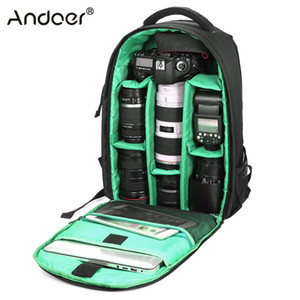 Outdoor Wear-resisting Water-resistant DSLR Digital Camera Bag Backpack Multi-functional Breathable Photography Camera Bags