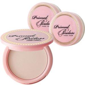 Nova marca Primed Poreless Pressed Powder Fundação 3 cores de alta qualidade frete grátis