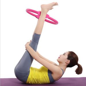 Anillo de yoga Anillo de Pilates Anillo de yoga Magic Circle Circle Crossfit Workout Deporte Equipo de yoga Pérdida de peso Gimnasio en el hogar Ejercicio EVA Circle