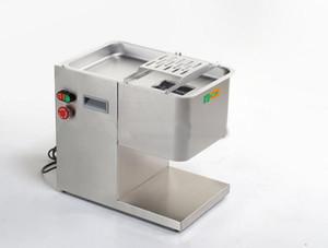 Máquina de la máquina de cortar carne de acero inoxidable modelo horizontal Máquina de la máquina de cortar comercial de grosor de 2 a 20 mm 100 ~ 300 kg / h Cortadora de carne 450 W 220 V / 110 V