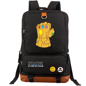 Infinity Gauntlet backpack Thanos gem glove daypack Super hero schoolbag Leisure rucksack Sport school bag Outdoor day pack