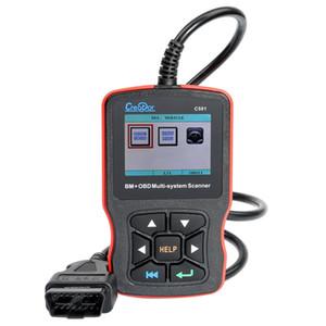 Creator C501 OBDII EOBD Engine Fault Scanner Multi-System Scanner with BMW Code Reader Full System Scan Tool