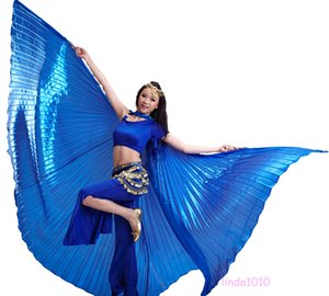 NEW Professional Egyptian Egypt Belly Dance Costume Isis Wings (no stick) 11 colors