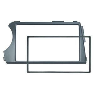 Reposición del automóvil 2DIN Radio Estéreo DVD Marco Fascia Dash Panel Kits de instalación para SSangyong Actyon Kyron (LHD) # 5239