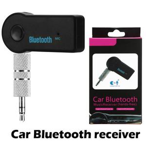 Hochwertige ein Auto-Bluetooth-Empfänger Tragbare 4.1 Bluetooth Adapter Aux Adapter für Car-Audio-Musik-Freisprecheinrichtung Car Kits mit Paket