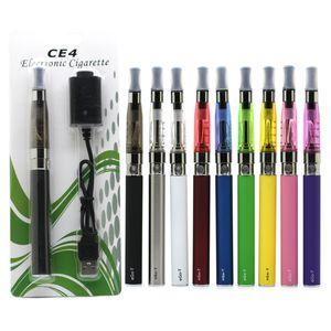Ego-T CE4 E Cigarettes Inizio Kit EGO-T CE4 atomizzatore Blister Vape Pen 650mAh CE4 Cartomizer con il caricatore USB