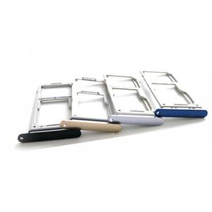 100% Nouveau Double Sim Micro SD Carte mémoire Plateau Titulaire Fente Pour Samsung Galaxy Note 8 N950 Double Simple Plateau 100 PCS