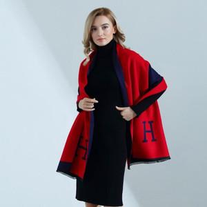 Heißer Verkauf Mode Brief Frühling Herbst Damen Schals Pareo Wraps Weiche Warme Kaschmir Schal Decken Schals Mäntel Kostenloser Versand