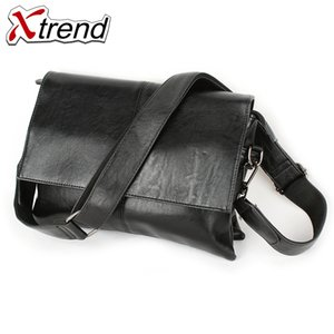 2018  Business Men Briefcase Bag pu Leather Black  Designer Laptop Bag Office Large Capacity Briefcase