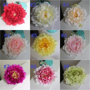 600pcs artificial flowers Silk Peony Flower Heads Wedding Party Decoration supplies Simulation fake flower head home decorations 15cm
