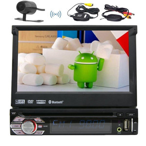 Android 6.0 1din Auto radio Stereo Multi Screen автомобильный DVD-плеер + GPS,BT,RDS, WIFI, сенсорный экран + камера заднего вида + пульт дистанционного управления
