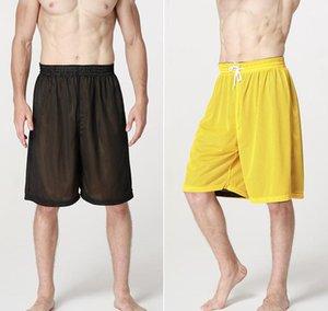 Alta qualità 2020 estate pareggiatori attivi spiaggia streetball bicchierini elastici doppia maglia reversibile respirabile breve lunghezza del ginocchio