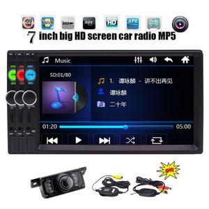 Telecamera di backup wireless EinCar Universal 7 '' pollici Double Din in Dash HD Car Radio MP5 Vivavoce Bluetooth Automotive Car Stereo Head Unit