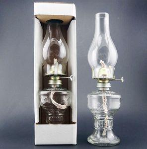 vintage lampe à pétrole en verre kérosène rétro Bouddha lampe à huile en verre lampe à huile décoration festival de mariage
