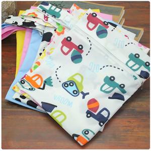 Sacs à langer pour bébé Organisateur Nappy Stackers Portable Water Proof Désodorisation Zipper Infant Poussette Sac de rangement jetable 4 5sk bb
