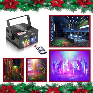 Laser Lights Led Projector,80 Patterns RG Laser DJ Stage Lighting,Blue Auto Sound Activated, Best For Disco Wedding Birthday Family Party