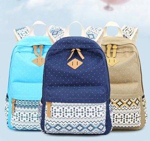 Sac à dos Loisirs Fashion Tissu Sacs The Schoolbag Knapsack Rayé Tissu extérieur Voyage Sac à dos de Toile haute capacité + Oxford A20 Katax