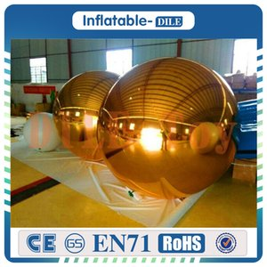 Free shipping, large reflective 10Pcs 1.5m inflatable mirror balls balloons for KTV, T station show, bar,concert,sports games and mall