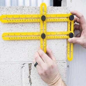 All Angles Multi-Angle Ruler Template Tool Measures All Angles Forms for Measurement Outdoor Tools Flexible Easy Tool free shipping