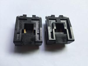 IC51-0444-825 Yamaichi IC Testi Soket QFP48pin 0.8mm Pitch IC Karnın Boyut 10x10mm prizine Yanık