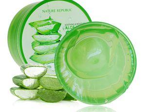 Nature Republic NEW Soothing& Moisture ALOE VERA 92%GEL (300ml) 10.56 Fluid Ounce After Sun repair Aloe Vera gel whitening anti-aging