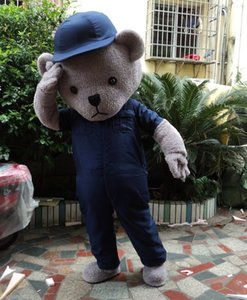 Teddy Bear Mascot Costume for Adult Halloween Mascot Costumes Party