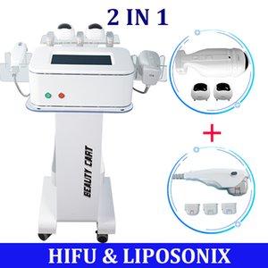 New Innovation Hifu Liposonix Machine 2 In 1 Effective Face Lift Fat Removal Ultrasound Slimming Lipo Cellulite Reduction Body Contour