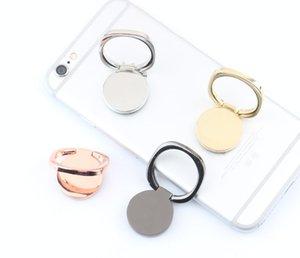 حلقة بسيطة مشبك حامل الهاتف المحمول قوس سطح المكتب المعدنية 360 درجة الدورية قوس الإبداعية