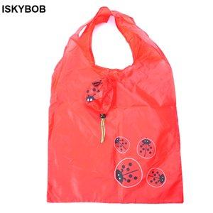 2018 Cute Animal Septempunctata Shape Plegable Shopping Bag Eco Friendly Ladies Gift Plegable Reutilizable Tote Bag Portable Travel S