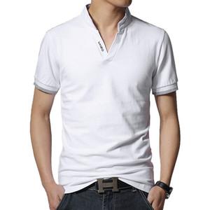 Nouveau Designer Polo Marque De Mode Hommes Polo Shirt Couleur Unie À Long Manches Slim Fit Shirt Hommes Coton Polo Shirts Casual Shirts 5xl
